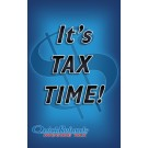 Indoor Sign - It's Tax Time!