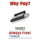 Why Pay? 1040EZ Always Free!