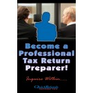 Indoor Sign - Become a Professional Tax Preparer!